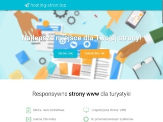 Hosting-stron.top kreator stron internetowych One Page