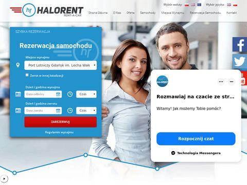 HaloRent wypożyczalnia samochodów