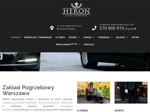 Heronpogrzeby.pl usługi pogrzebowe Wola Bemowo