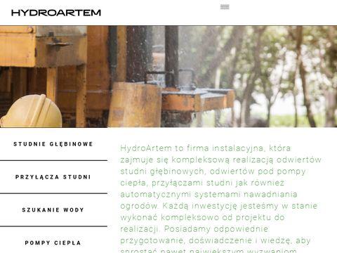 Hydroartem.pl usługi szukania wody