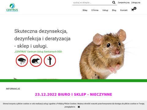 Centrus preparaty gryzoniobójcze Lublin