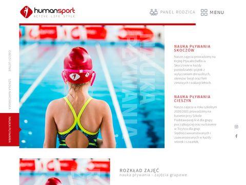 Humansport.pl nauka pływania i innych sportów
