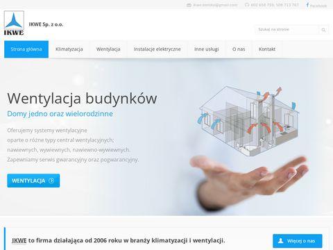 Ikwe.pl montaż klimatyzacji