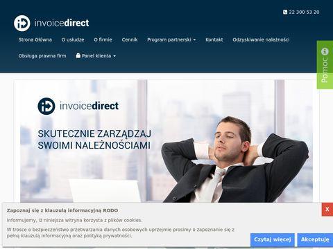 Invoicedirect.pl windykacja płatności