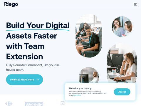 Idego-group.com tworzenie aplikacji