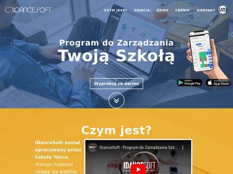 IDanceSoft - zarządzanie twoją szkołą