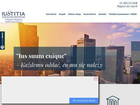 Iustitia.com.pl kancelaria prawnicza