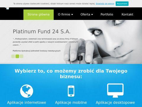 Itstream.pl Aplikacje internetowe