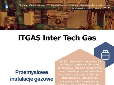 Itgas.pl przemysłowe instalacje gazowe