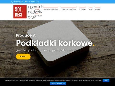 501.best podkładki korkowe Warszawa