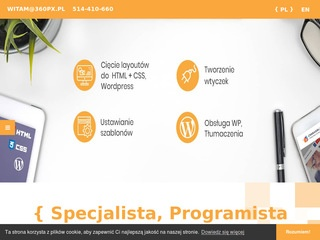 360px.pl developer wordpress
