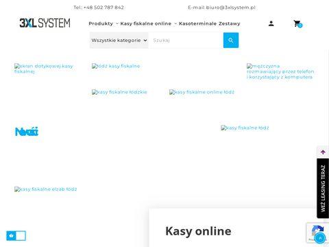 3xlsystem.pl kasy fiskalne
